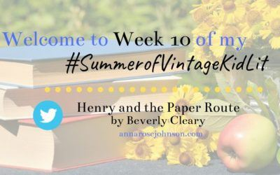 Week Ten of My #SummerofVintageKidLit – Henry and the Paper Route!